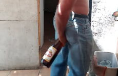 This man can open beer bottles with his clenched arse cheeks