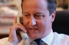 Man who prank called Cameron was 'off his face on booze and cocaine'