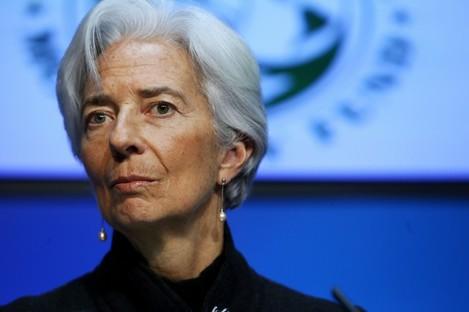 Managing Director of the International Monetary Fund, Christine Lagarde.