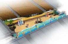UCF were so traumatised by Irish weather that they're building a beach in their stadium