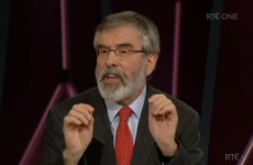 Gerry Adams just got the better of Joan Burton on last night's Claire Byrne Live