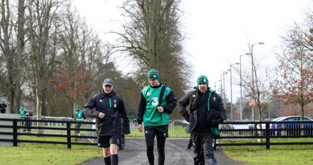 In pictures: Ireland's Six Nations hopefuls step up preparations at Carton House