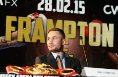 Ireland's Carl Frampton to defend world title on ITV