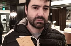 Here's Berger from Sex and the City recreating THAT infamous post-it breakup