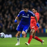 Diego Costa lucky to avoid a red card after nasty stamp on Emre Can
