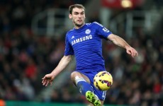 This Ivanovic header sealed Chelsea's place in the League Cup final