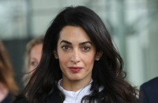 Amal Clooney responded to a question about her style like an absolute boss