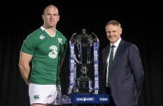 Joe Schmidt isn't buying into Ireland's status as Six Nations favourites