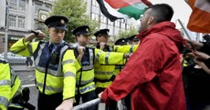 In pictures: the Dublin anti-Blair protests