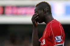 Balotelli 'very disappointed' by Liverpool drought, admits agent