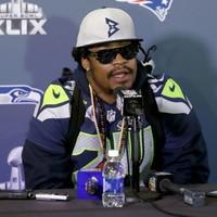 Marshawn Lynch has finally broken his silence ahead of Sunday's Super Bowl