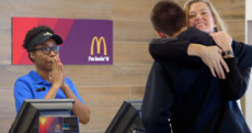 McDonald's will now accept selfies and hugs as payment