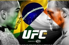 Get booking! Conor McGregor's title fight with Jose Aldo will be on 11 July