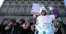 Thousands take part in anti-water charge protests across Ireland