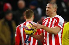 Bojan, who? Jon Walters scores Stoke's first Premier League hat-trick