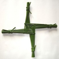 Here's how to make a St Brigid's Cross
