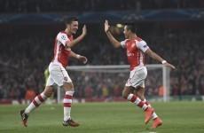 Five-star Arsenal flatter as Champions League rivals Southampton falter