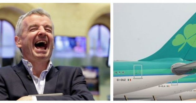 'A small regional peripheral airline' - Michael O'Leary dismisses Aer Lingus talk