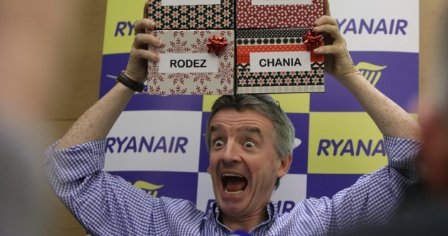 Ryanair is basically running like a massive cash machine