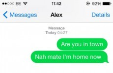 This guy was so drunk, he replied to his own text