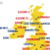 Ryanair's in-flight magazine marks Dublin in completely the wrong place