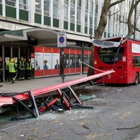 'Lucky escape' for passengers as London bus roof ripped off by tree