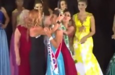 Beauty pageant contestant rips crown off winner's head, instantly goes viral