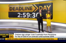 Twitter was not impressed with the latest Transfer Deadline Day