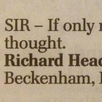 This 9-word letter to the Daily Telegraph will break your heart