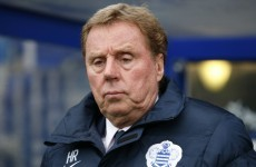 Harry Redknapp has parted company with Premier League strugglers QPR