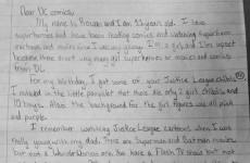 This little girl's letter pleading for more female superheroes is a must-read