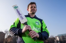 He's played for England and Ireland at a WC but now Ed Joyce is intent on leaving his mark