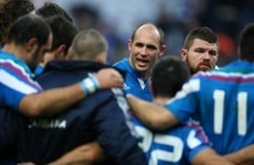Italy: We'll always have Parisse