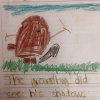 Five-year-old draws unintentionally rude photo of groundhog