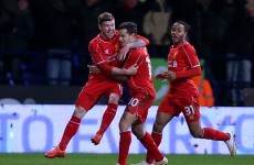 This stunning late strike from Coutinho helped Liverpool edge past 10-man Bolton