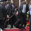 Photographers in Zimbabwe forced to delete photos of President Mugabe falling