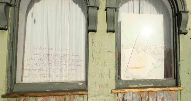 Councillor's office vandalised with 'horrendous graffiti of a sexual nature'