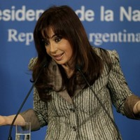 Argentina's president makes fun of the Chinese accent - while on visit to China