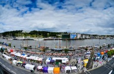 WATCH: The Tall Ships in Waterford - timelapse