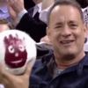 Tom Hanks was finally reunited with Wilson last night