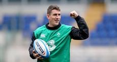 In pics: Keats kicks into gear as Ireland get a feel for Stadio Olimpico