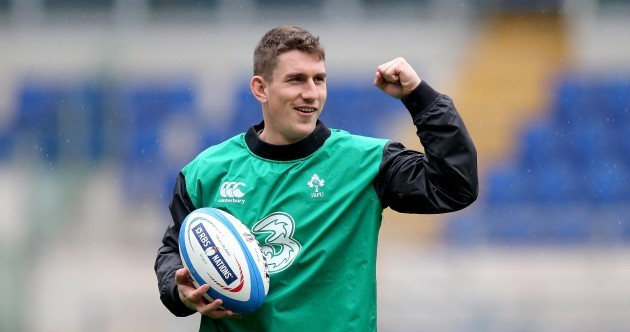 In pics: Keats kicks into gear as Ireland get a feel for Stadio Olimpico
