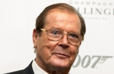 Roger Moore engaged in a spot of James Bond banter on Twitter today