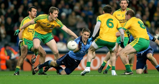 McCaffrey cracker lights up feisty clash between Dubs and Donegal