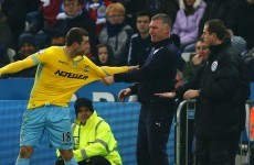 James McArthur plays down weird touchline incident with Leicester boss Pearson