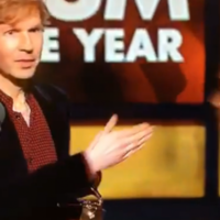 Kanye ALMOST interrupted his speech --- but Beck took home the big award at this year's Grammys