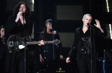 Watch Hozier and Annie Lennox rock the Grammys with amazing mash up