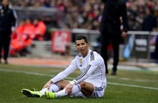 Ronaldo right to celebrate after Real Madrid derby mauling, insists agent