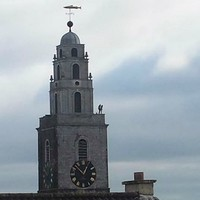 Two people climbed the Shandon Tower in Cork for an incredibly dangerous selfie