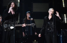Take a break: Watch Hozier and Annie Lennox rock the Grammys with incredible mash up